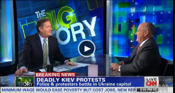 Ђулијани коментарише Украјину на ЦНН